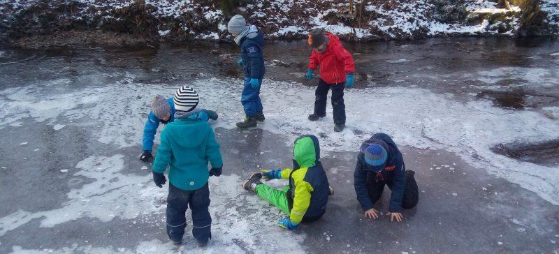 Kurs EN1901: Winterliche Schnitzeljagd